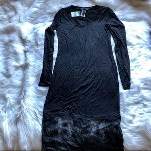 ❣️ BCBG Black Slip Dress